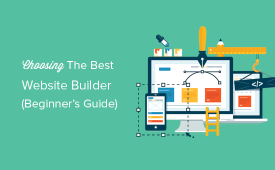 How to Choose the Best Website Builder, WP Editor